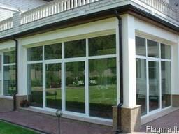 Алюминевые конструкции для фасада, окна, двери - фото 3