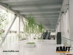 Дизайнерские подвесные потолки KRAFT