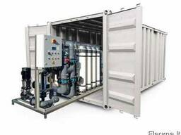 Модульные системы водоподготовки в контейнерах
