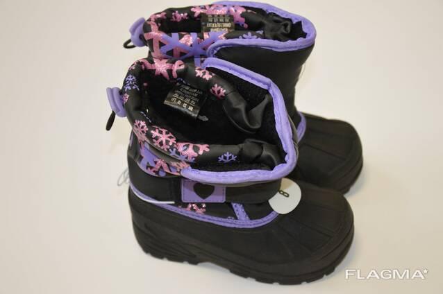 Детская зимняя обувь, сток