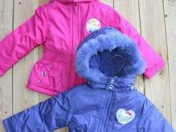 Disney курточки для девочек, сток