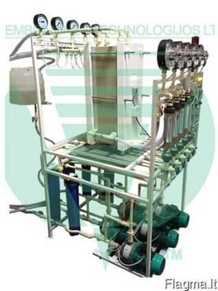 Электромембранное оборудование для щелочного гидролиза.