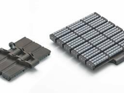 Металлические и пластиковые пластинчатые цепи Magris