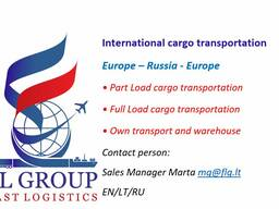 International cargo transportation FL Group LT