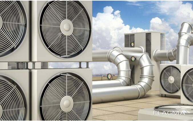 Монтаж вентиляционного оборудования, систем кондиционирования