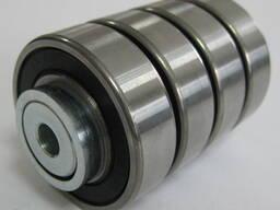 Неприводной стальной конвейерный ролик ø50 с нагрузкой 200 кг / Рольганг / Стеллажи