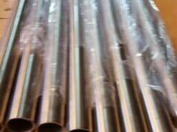 Nerūdijančio plieno šlifuotas vamzdis Ø 42. 5 mm