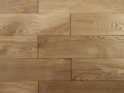 Oak engineered flooring, solid oak floor boards - photo 2