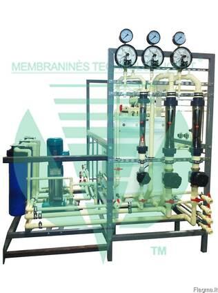 Очистка глицерина - электродиализная установка