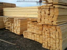 Пиломатериалы хвойных и лиственных пород древесины