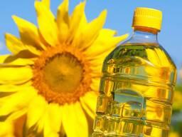 Подсолнечное масло налив или ПЭТ 1 - 5 литров (Опт)