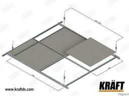 Подвесной потолок на Т-профиле от производителя - photo 7