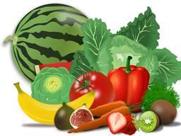 Продаем овощи в ассортименте.