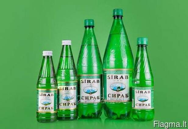 Product Name: SIRAB natural mineral water enriched with its