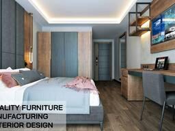 Проект дизайн производство мебели доставка и монтаж