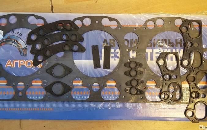 Прокладка ГБЦ 236Д-1003210 в сборе (сталь и резина)