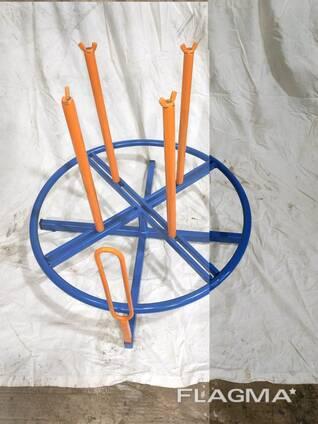 Vielos ritės kabelio atsuktuvas , размотчик кабеля катушек проволки