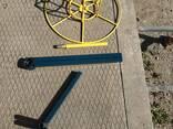 Vielos ritės kabelio atsuktuvas , размотчик кабеля катушек проволки - фото 6