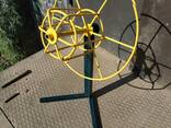 Vielos ritės kabelio atsuktuvas , размотчик кабеля катушек проволки - фото 7