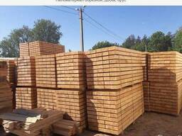 Sawn timber, bars, pallet planks, wooden elements