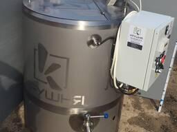 Stacionarus пастеризатор pieno 100-1000 litrų.