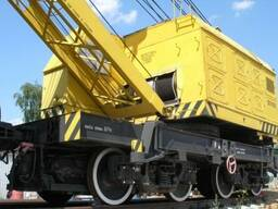 The railway crane KZH-561 25 tons