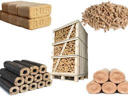 We sell fuel briquettes, fuel pellets, kindling, firewood - фото 2