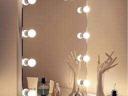 Зеркало с подсветкой на подставке 600х800