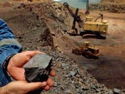 Железная руда кусковая